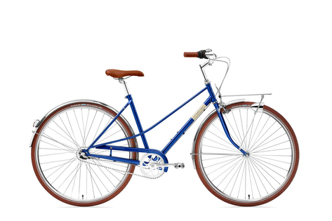 Rower Creme Caferacer Lady Solo Classic Blue 7s 28""