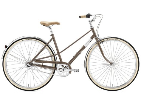 Rower Creme Caferacer Lady Uno Warm Gray 3s 28""