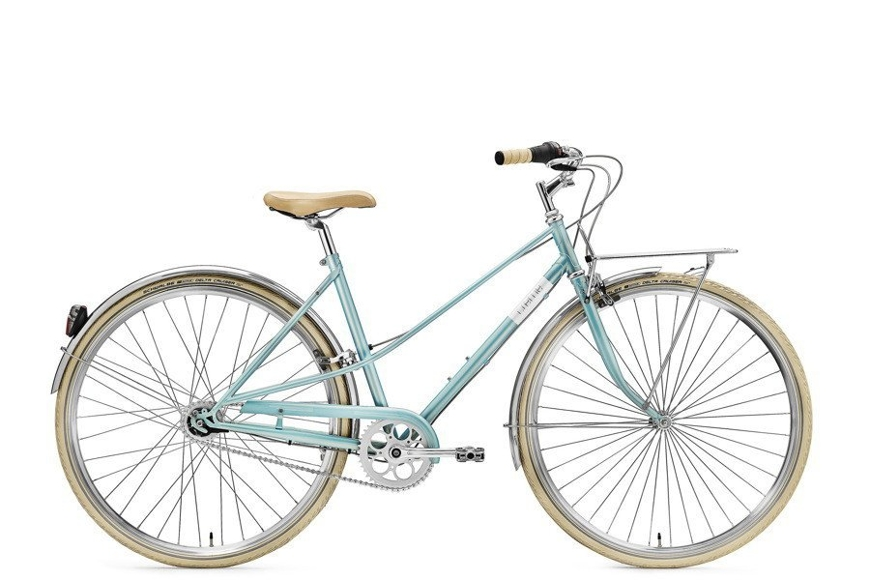 Rower Creme Caferacer Lady Solo Turquoise 7s 28""